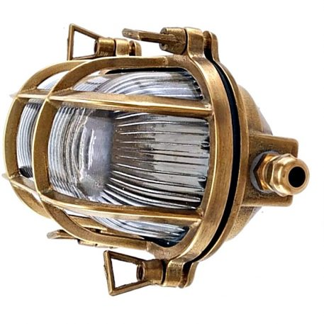 bulkhead lights. Brass bulkhead wall light
