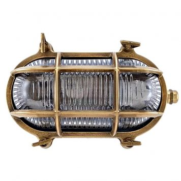 bulkhead lights. Nautical brass bulkhead oval outdoor waterproof light. Nautical marine wall lamp. Industrial light.