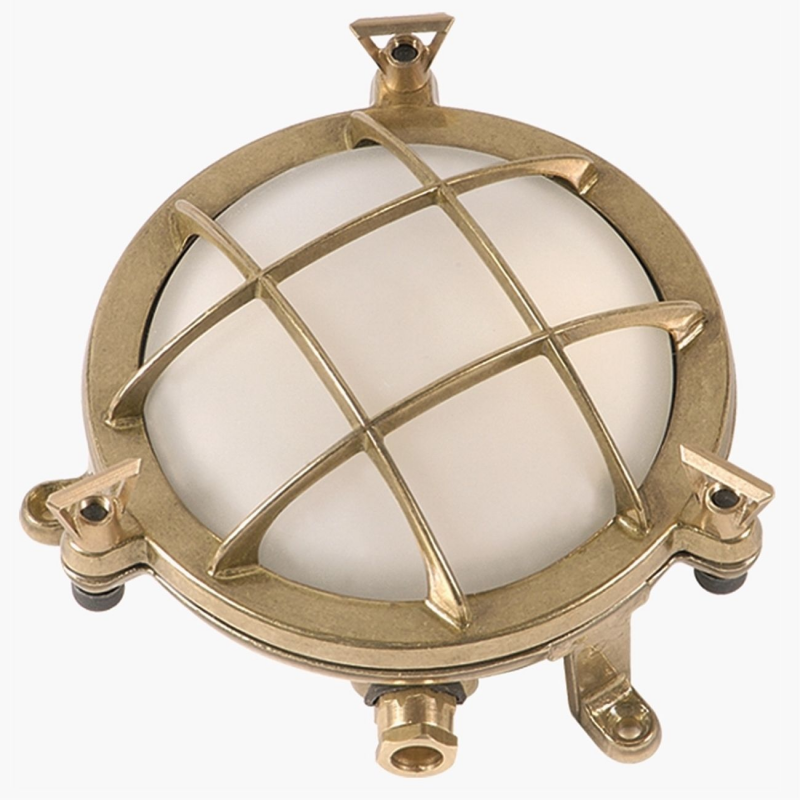 Nautical Br Bulkhead Wall Light