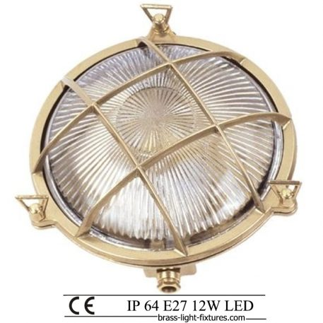 Nautical lighting bulkhead. Νautical outdoor lighting and marine grade exterior lights