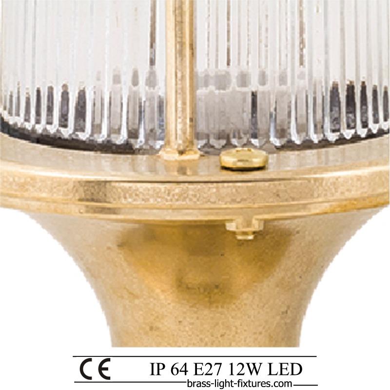 Lamp Post Light Fixtures Outdoor Lighting Brass Post