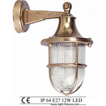 Brass wall light fixtures