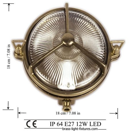 Indoor or Outdoor Coastal and Nautical Style Lights