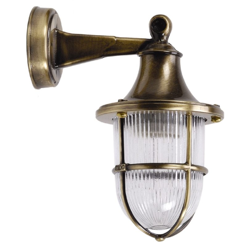 Wall Lights In Br Antique Finish