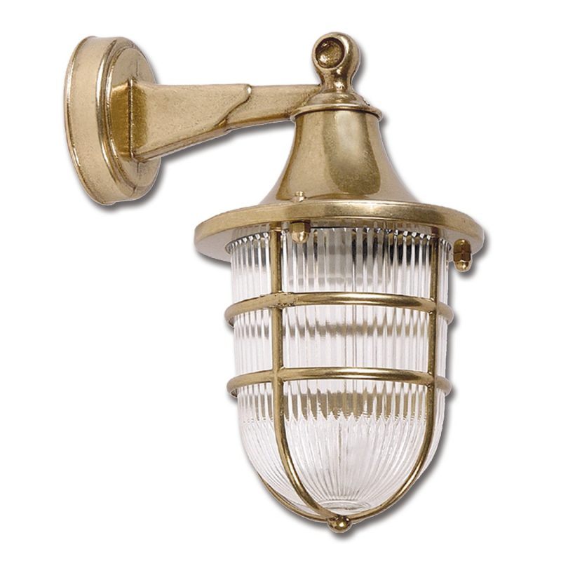 Nautical wall sconce lights brass wall light fixture art br432 15000 aloadofball Choice Image