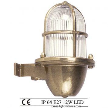 Wall lights in brass FL. brass-light-fixtures