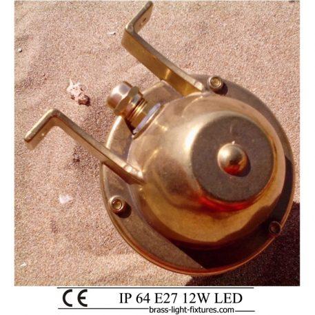 Brass Nautical and Marine Style Lighting.