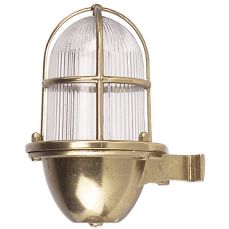 Wall light fixture. Marinlampa Mässing
