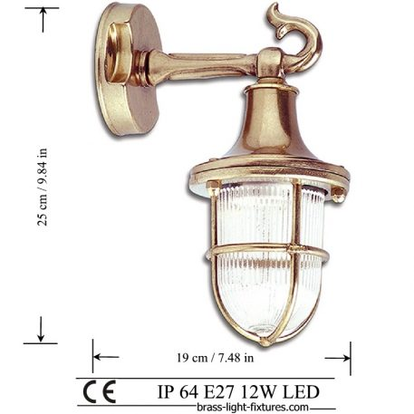 Traditional Brass Wall Sconces