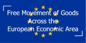The free movement of goods is secured through the elimination of customs duties