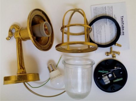 Brass wall sconces, lighting fixtures for indoors and outdoors,