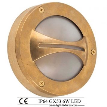 Bulkhead light fixture. Outdoor wall light