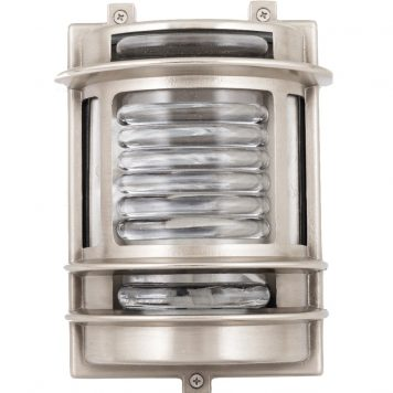 Outdoor lighting bulkhead
