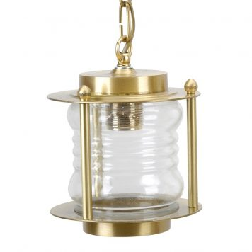Brass Pendant Light. Ceiling Light pendant in brass finish