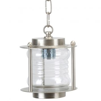 Single light ceiling pendant