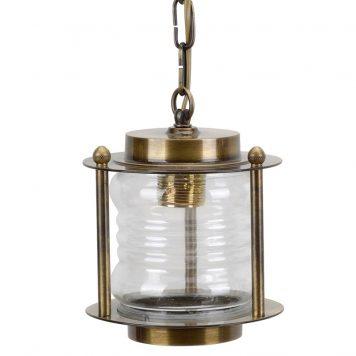 brass antique pendant light