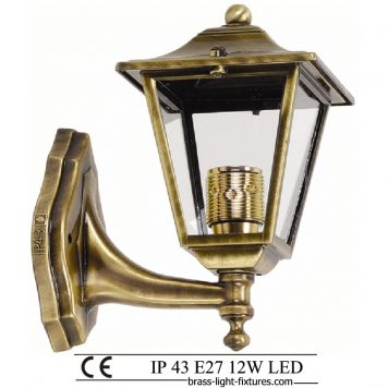 Antique Wall Lights, Made of Brass in brass antique finish. ART BR484A Brass antique