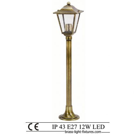Column Lights. Made of Brass in brass antique finish