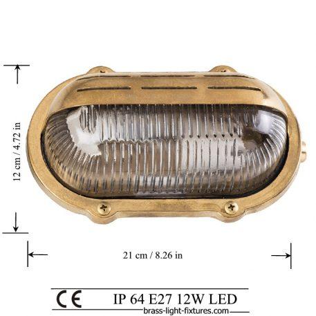 Brass Light LED, Pathway Light LED