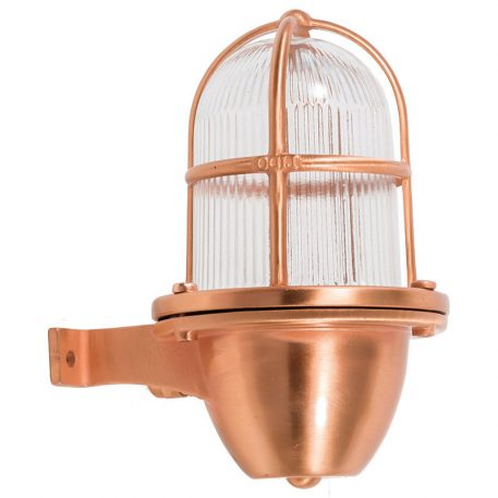 Decorative Interior Lights in Copper Finish. Made of brass.