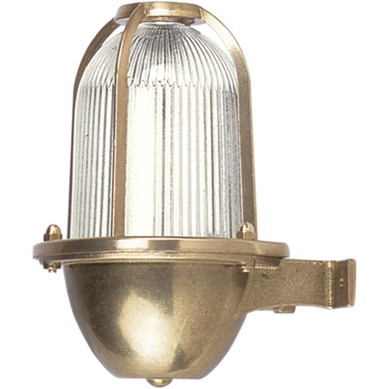Brass Nautical Light. Exterior Marine Wall Light.